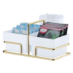 Porta-Saches-Organizador-Cantinho-Do-Cafe-Dourado
