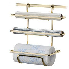 Suporte-Porta-Rolos-Triplo-Papel-Toalha-Aluminio-e-PVC-Para-Barra-Luxo-Dourado