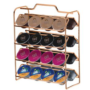 Suporte-Organizador-para-Capsulas-de-Cafe--Compativel-com-Dolce-Gusto-Rose-Gold-
